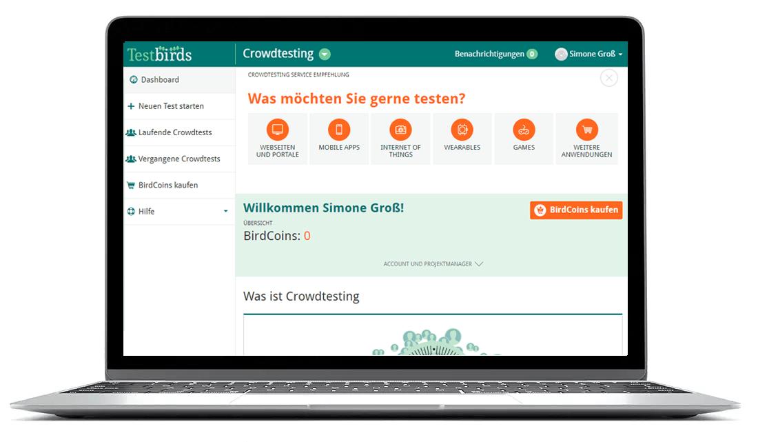 Nest-crowdtesting-dashboard-de