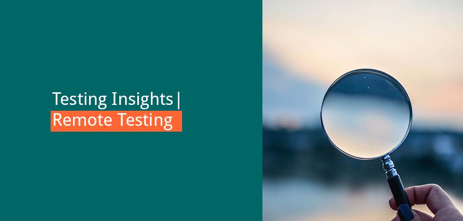 Testing Insights: Remote Testing mit Anna Renner