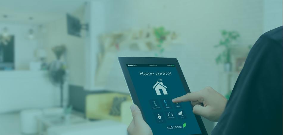 Das moderne Zuhause ist smart